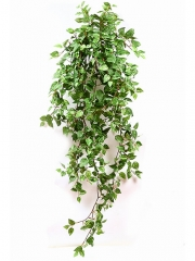 Plantas colgantes artificiales. pothos artificial colgante hojas pequeñas oasisdecor.com