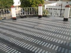 Instalación de lamina asfaltica