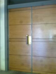 Reforma de una puerta de entrada