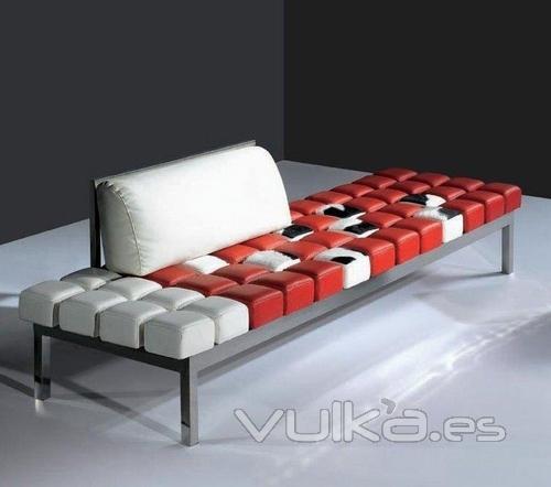 Foto sofa de dise o especial para recepciones de oficinas for Diseno de recepciones oficinas