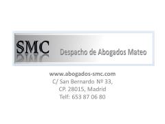 Despacho de Abogados Mateo SMC