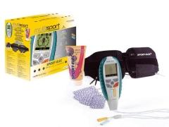 Estimulador muscular + tens de dos canales. programs prefijados para deporte y salud. inlcuye cintur�n ajustable ...