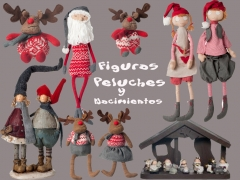 Figuras, peluches y nacimientos para amenizar la navidad ,m�s infantil, en artico !