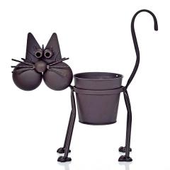 Macetas. gato maceta metal 56 en lallimona.com