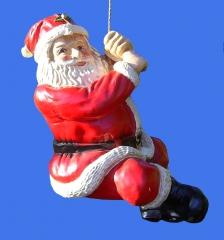 PAPA NOEL CON CUERDA 70cm. en www.anaparra.es