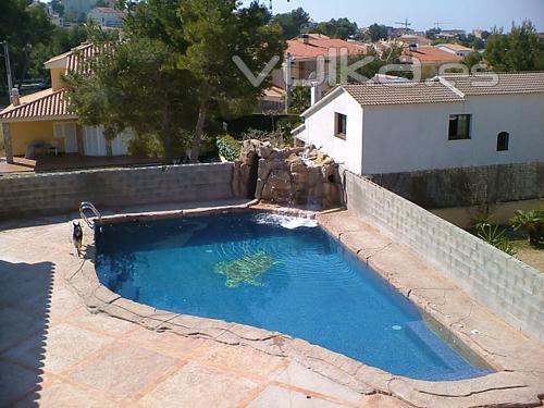 Foto piscinas de obra for Piscinas rectangulares de obra