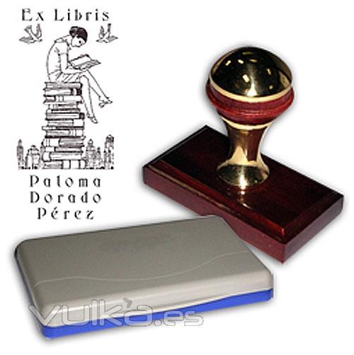 Sello digital sellos de caucho urgentes y personalizados - Ex libris personalizados ...