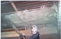 Proyeccion de lana de roca