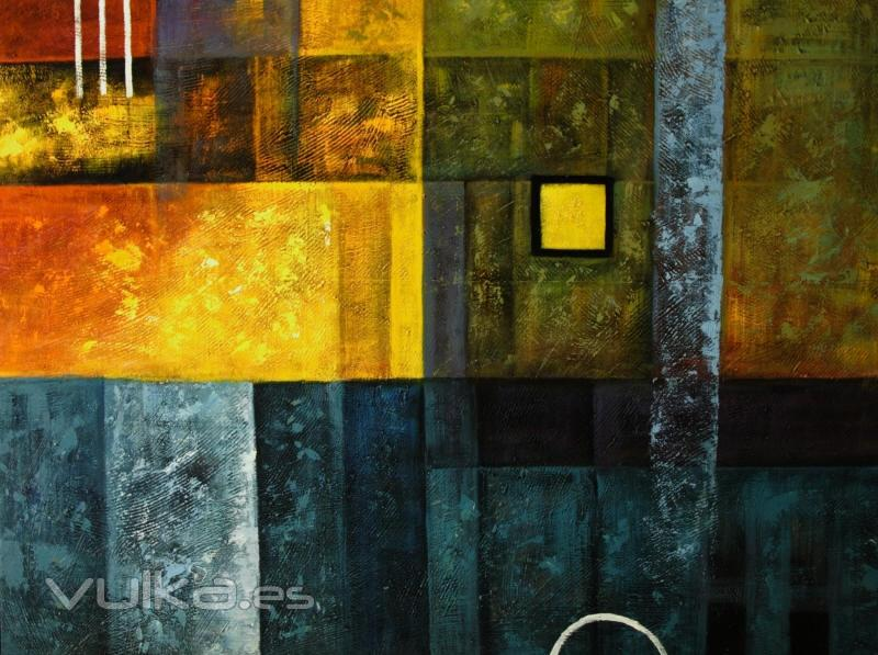 Cuadros modernos exoticae for Imagenes de cuadros abstractos geometricos