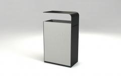 Mobiliario urbano papelera