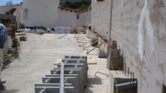 Construcción de muros en calpe, benidorm, moraira y alicante provincia
