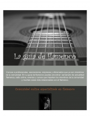Flyer la guia de flamenco