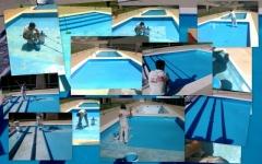 Pintura de piscinas.