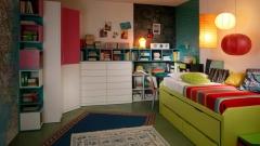 Mueble juvenil en color verde del catalogo aire