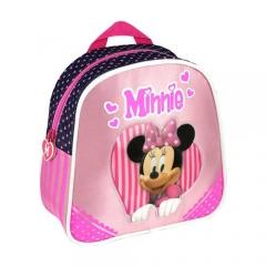 Mochila peque�a minnie / disney. producto licenciado. pack de 24 unidades. ref. born�li15