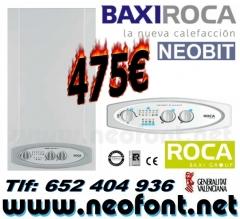 Caldera para calefacci�n y a.c.s. roca neobit 24/24f por 475eur