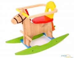 Caballo balanc�n de madera para beb�s ni�os y ni�as