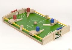 Futbol�n infantil para ni�os y ni�as. Juegos educativos y did�cticos de madera