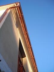 Canalon de cobre artesanal