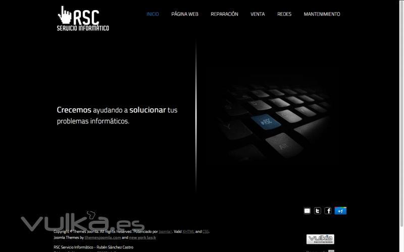 Web Corporativa RSC Servicio Inform�tico