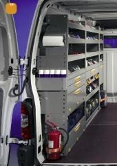 Equipamiento furgonetas inansur