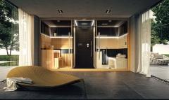Una sauna, ducha ,  hammam en un mismo espacio.el autentico jacuzzi �