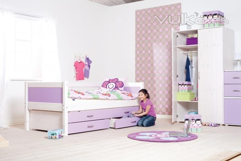 Foto camas nido con cajones - Camas infantiles con cajones ...