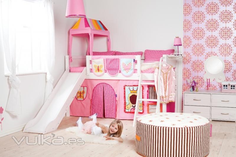 Tiendas De Muebles Infantiles En Madrid : Foto camas niÑos con tobogan habitaciones infantiles flexa
