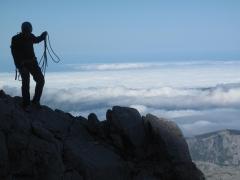 Preparando el descenso