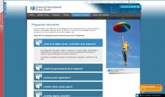 Dise�o web de la p�gina de financial investment group spain http://www.figs.es