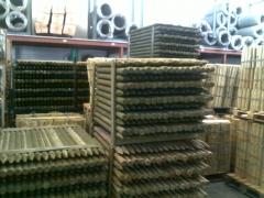 Estacas de madera de pino tratado - central de enrejados-telas metalicas gonzalez
