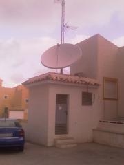 Instalacion de antenas parabólicas