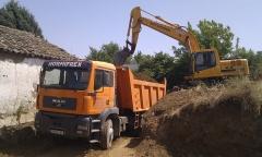 Hormifrex, excavacion y transporte fregenal de la sierra