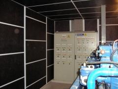 Tratamientos acusticos en salas de maquinas