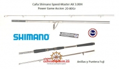 Www.ceboseltimon.es -novedad 2012 caña shimano speed master ax 3.30h power game