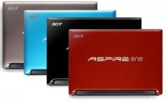 Acer aspire one en varios colores (n455, 250gb, 1gb, 6 celdas) en www.consumiblesa3f.com