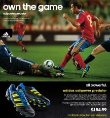 Adidas predator nuevo color. www.deportespolos.com.