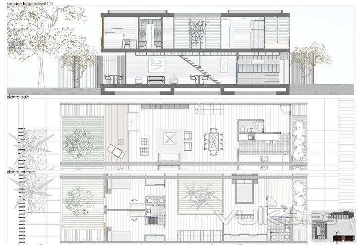 Foto din a2 estudio de arquitectura vivienda unifamiliar - Aparejadores valencia ...