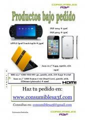 Algunos productos bajo pedido en Consumibles A3F, www.consumiblesa3f.com