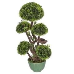 Plantas artificiales. bonsai artificial topiary 5 bolas 28 en lallimona.com