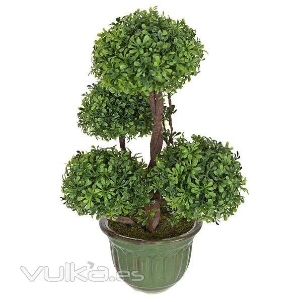 Foto plantas artificiales bonsai artificial topiary 4 - Plantas artificiales para exterior ...