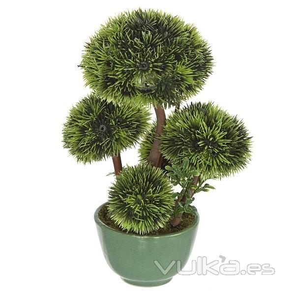 Foto plantas artificiales bonsai artificial topiary 5 for Plantas artificiales decoracion