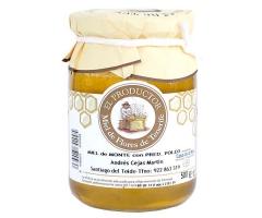 Miel de monte de andrés cejas martín (garantía casa de la miel - tenerife - islas canarias)
