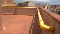 Instalación comunitaria de gas