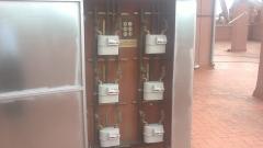 Armario de contadores de gas
