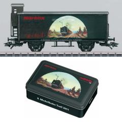 Vagon especial salon internacional 2011 escala h0 marklin
