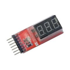 Monitor de bateria master light rc system