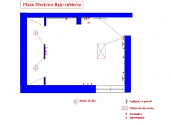 Plano electrico para bajo cubierta