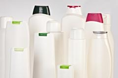 Diferentes modelos de botellas para el sector cosm�tico