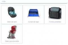 Sillas de coche, cunas de viaje, tronas port�tiles o sillas para bicicleta te esperan en baby cotton